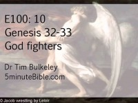 E100-10: Genesis 32-33: God-fighters