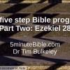 The Five Step Bible Programme: Part 2: Ezekiel 28