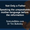 Not Only a Father: Speaking the unspeakable: mother-language before  the reformation