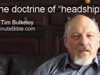 "The doctrine of ""headship"""