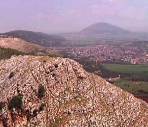 View of hill near Nazareth and Jezreel Valley