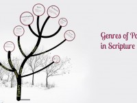 Genres of Poetry in Scripture